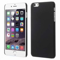 MW Hard Case Rubberized Zwart voor Apple iPhone 6 Plus