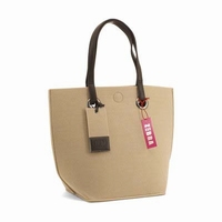 Zebra Natural Bag Vilt - Beige
