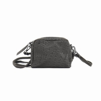 Zebra NAtural Bag NOVA Dark Grey