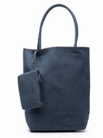 Zebra Trends Natural Bag Kartel Suedines - Navy