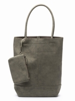 Zebra Trends Natural Bag Kartel Suedines - Army